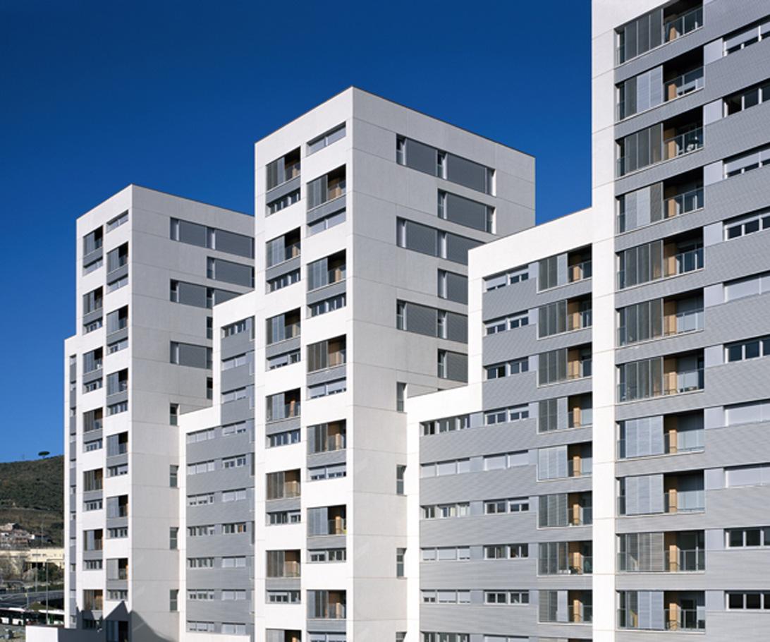 Edificio de 160 viviendas de protecci n oficial locales - Pis proteccio oficial barcelona ...