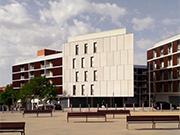 Conjunt de 287 habitatges de protecció oficial, locals comercials, aparcament i urbanització al Parc dels Pinetons de Ripollet
