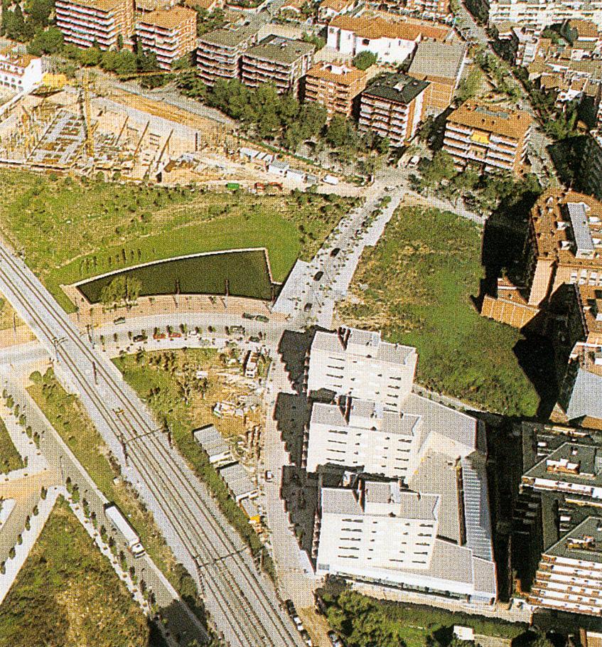 Conjunt de 45 habitatges de protecci oficial locals comercials i aparcament a sant cugat del - Alfombras sant cugat ...