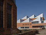 Escola Nova Electra a la rehabilitació de l'antiga nau d'AEG a Terrassa
