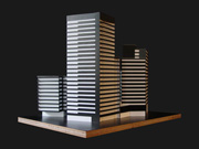 Conjunt Diagonal 0. Torre d'habitatges i un hotel a la zona del Fòrum de Barcelona