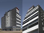 Edificio de 78 viviendas de protección oficial, oficinas, locales comerciales y aparcamiento en Mataró
