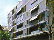 30 unit residential block in Barcelona (Basic project)