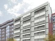 Edifici de 46 habitatges, locals comercials i aparcament a València