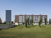 Conjunt de 100 habitatges, locals comercials, aparcament i un edifici d'oficines a Vic