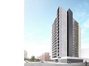 Torre de 95 habitatges de protecció oficial, locals comercials i aparcament a L'Hospitalet de Llobregat