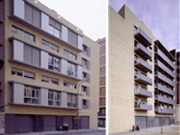 Conjunto de 50 viviendas de protección oficial, locales comerciales y aparcamiento en Poblenou.