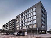 70 unit housing block in Viladecans