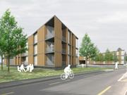 Concurs per l'ordenació i desenvolupament del barri de Prés-Grange a Corsier (Suïssa)