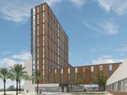 Nova residència universitària al Recinte d'Esports de la Universitat de Barcelona