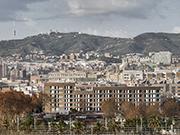 Edificio de 61 viviendas sociales en la remodelación del barrio de Bon Pastor de Barcelona