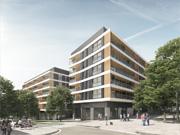 Conjunt de 103 habitatges, 7 locals comercials, 110 places d'aparcament i zona enjardinada comunitària a Mataró