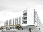 Conjunt de 89 habitatges, locals comercials, aparcament i zona enjardinada a Cubelles