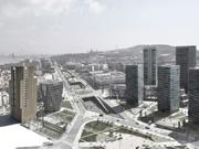 Concurso torre viviendas, locales comerciales y aparcamiento en la Plaça Europa de L'Hospitalet de Llobregat