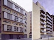 50 unit housing complex in Barcelona