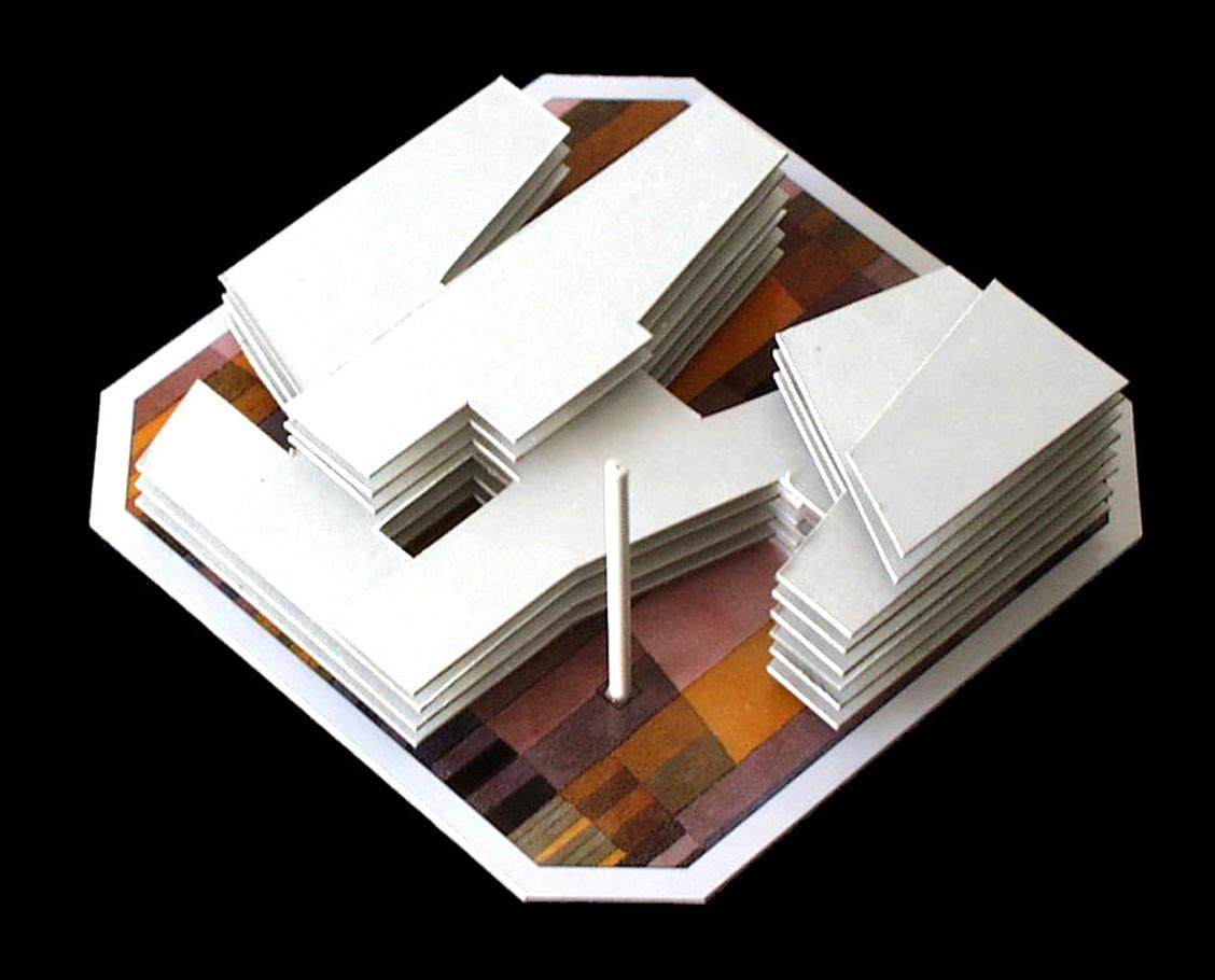 Avantprojecte de dues illes d oficines i espais exteriors for Caixa d enginyers oficines barcelona