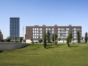 Conjunto de 100 viviendas, locales comerciales, aparcamiento y un edificio de oficinas en Vic